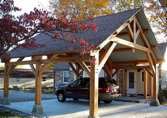 Attached Carport to House: See 5 Top Designs up to 6 Tips to Build