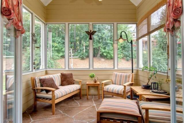 fresco sunroom