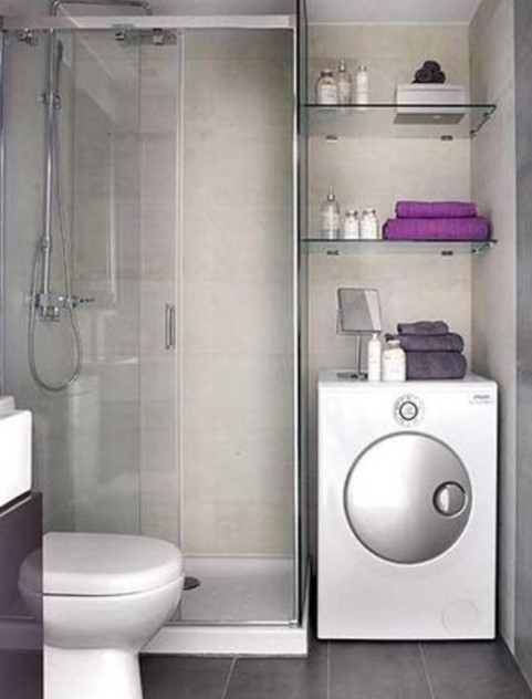 small wet room design