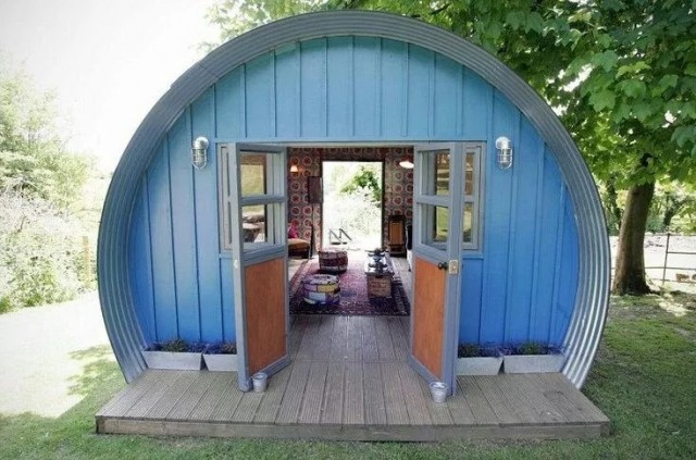 tiny quonset hut homes