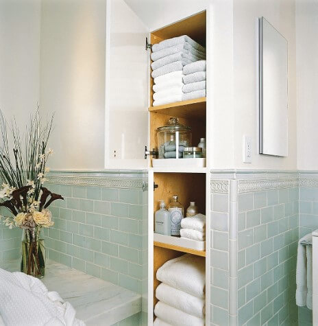 hidden bathroom storages ideas