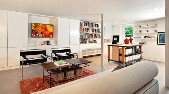 Open Finished Basement Ideas for 2019 trends. Beautiful finished basement ideas that you can use as family room