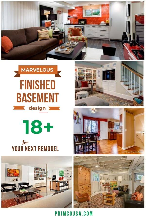 Best finished basement ideas that you can apply to your small basement, man cave game room, family room, gym room, bar, or home theater basement.