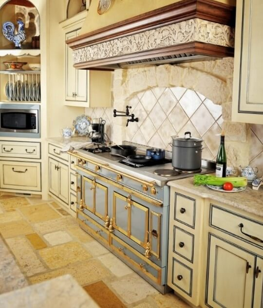 french style country kitchen