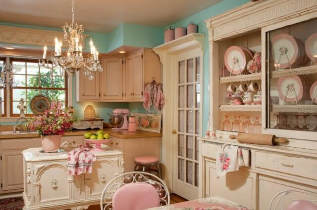 Shabby Chick Kitchen Cabinets