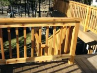 Simple Deck Railing