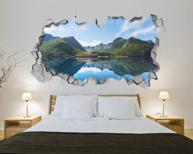 3d painting decor for Bedroom