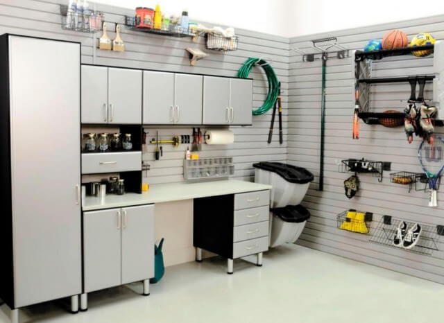 Modern Garage Organization IDeas