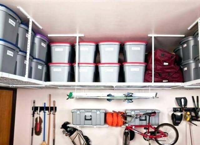 Over Head Garage Storage