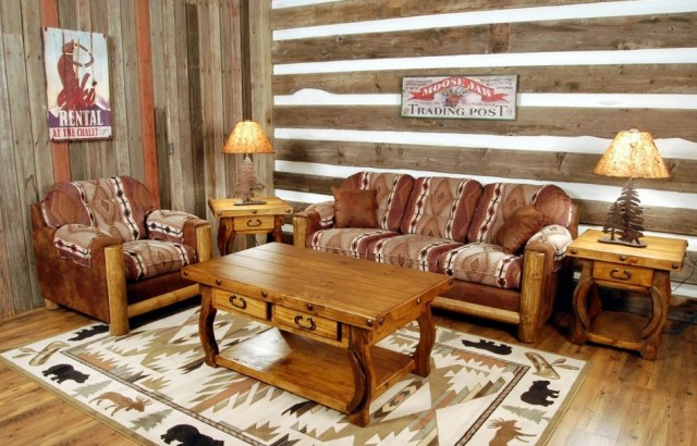 Rustic Chairs for Living Room