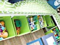 Toy Bench Container Ideas