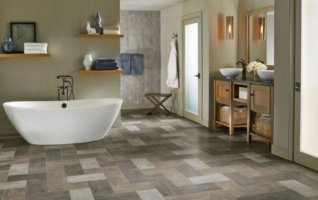bathroom tile vinyl