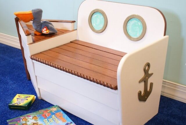 boys toy chest and box