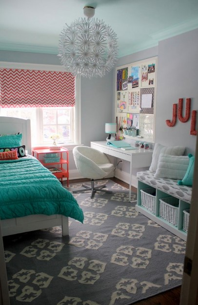 cute curtain for teenage girl bedroom