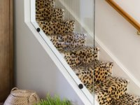 leopard pattern carpet