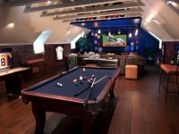 man cave basement