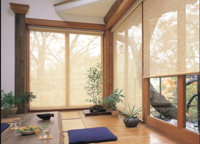 roller blind for sunroom