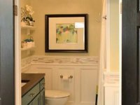 simple bathroom remodel after