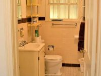 simple bathroom remodel before