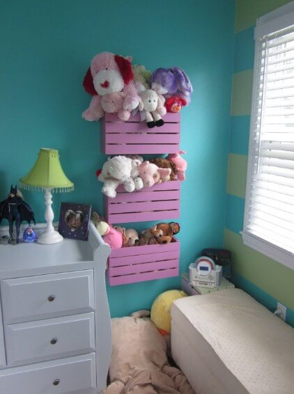 stuffede animal storage
