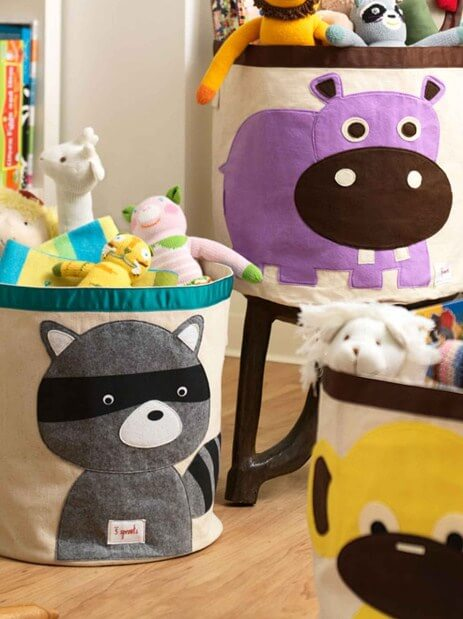 toy storage bins