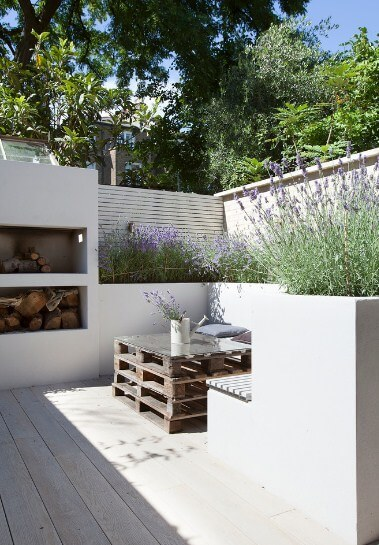 Outside pallet table ideas