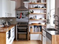 contemporary small kitchen style